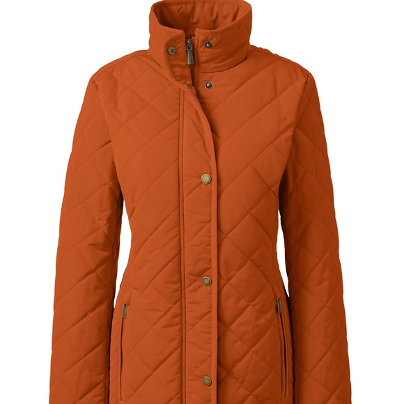 Nwt Lands End Primaloft Parka In 4 Tall